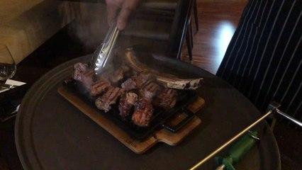 A 5 Start Steakhouse - The Grill - Marriott Hotel Al Forsan