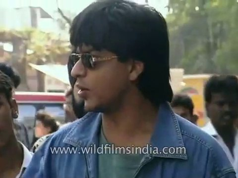 Shah Rukh Khan in His Younger Years Driving His Own Mitsubishi Pajero