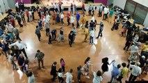 Saint-Martin-de-Valgalgues : le groupe Cabr'e Can a animé le bal folk