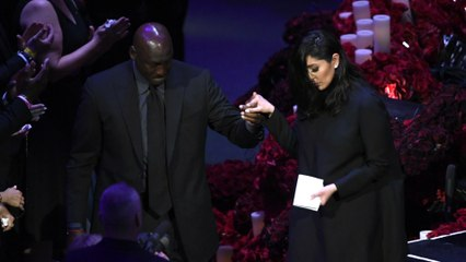 Celebrities uplift Vanessa Bryant after eulogizing her late husband and daughter