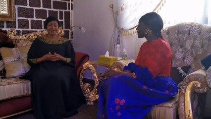 COUMBA GAWLO EN TOUTE COMPLICITÉ AVEC LA 1ERE DAME DE GUINÉE DÎENE KABA CONDÉ