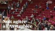 La majorité quitte l'Assemblée nationale lors des débats pour la réforme des retraites