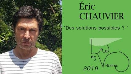 """(""""La petite ville"""" de Éric CHAUVIER)  Des solutions possibles ?"""