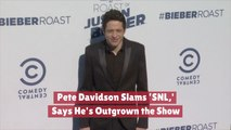 Pete Davidson Looks Beyond SNL