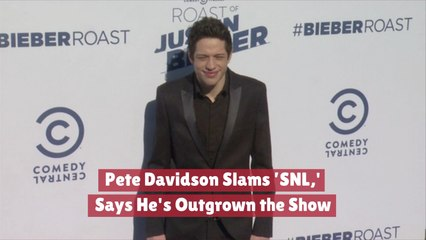 Pete Davidson Looks Beyond SNL