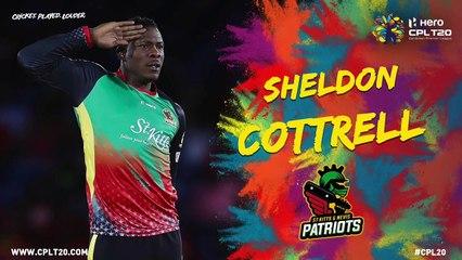SHELDON COTTRELL | ST KITTS AND NEVIS PATRIOTS | #CPL20 #CricketPlayedLouder #BiggestPartyInSport