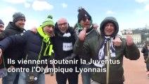 Football/coronavirus : à Lyon, les supporters de la Juventus déplorent la polémique