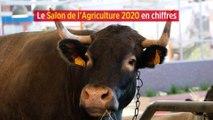 Le Salon de l'Agriculture 2020 en chiffres