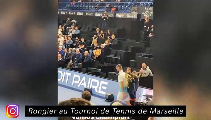 De Jong et Mikky - Rongier au tournoi de tennis - Ramos en famille - Stade At Madrid
