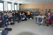 Manduel  : Suzanne Spiler, rescapée de la Shoah, devant les collégiens