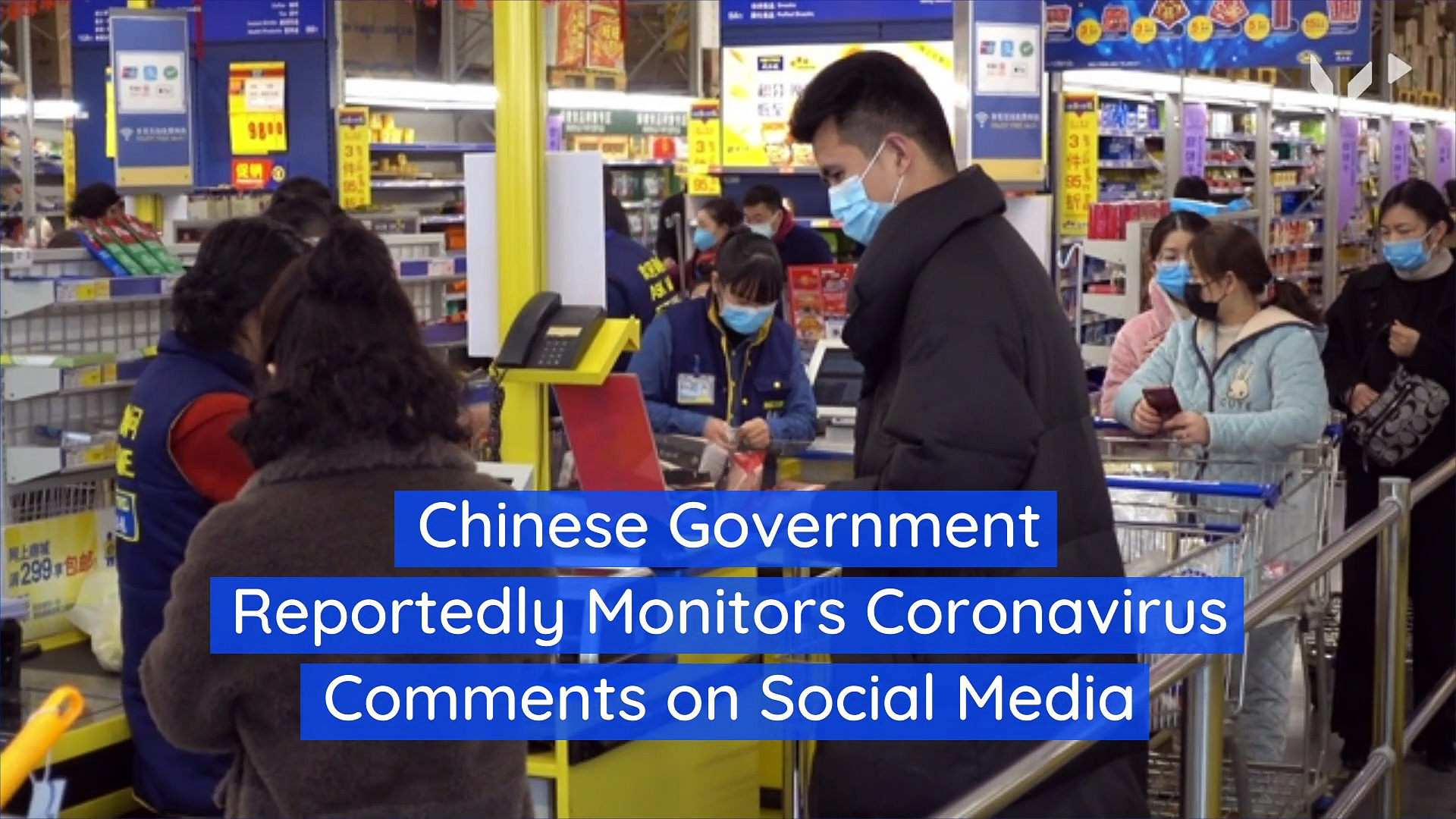 Chinese Government Reportedly Monitors Coronavirus Comments on Social Media