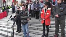 Indigenous youth rally at B.C. legislature