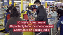 Coronavirus Comments Are Dangerous In China
