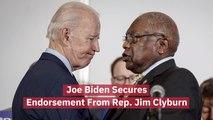 Rep. Jim Clyburn Backs Joe Biden