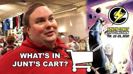 What's in Junt's Cart? - South Coast Toy and Comic Show