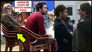 Amitabh Bachchan HUGE RESPECT For Ranbir Kapoor, Needs 4 Chairs To Match Ranbir's Talent