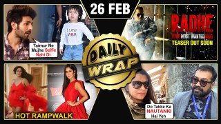 Rangoli SLAMS Anurag Kashyap, Kartik's First Meet With Taimur, Katrina TEASES Fans | Top 10 News