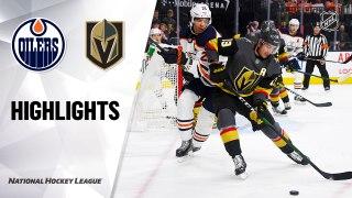 Vegas Golden Knights vs. Edmonton Oilers - Game Highlights