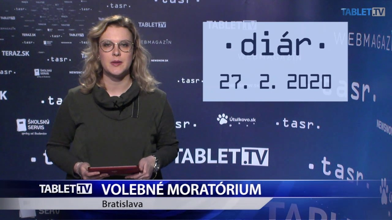 DIÁR: Začína sa volebné moratórium
