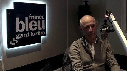 Daniel Vailhé,  président du collectif cycliste gardois