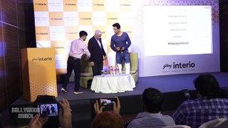 Press Conference With Actor Sonu Sood For Godrej Interio