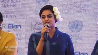 Neha Mahajan Walks The Ramp For Jayati Goenka AT LFW Summer Resort 2020 Day 2