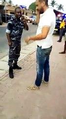 Abidjan : Un tunisien gifle un policier ivoirien dans l'exercice de ses fonctions