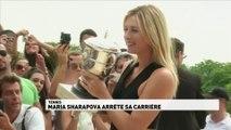 Maria Sharapova arrête sa carrière
