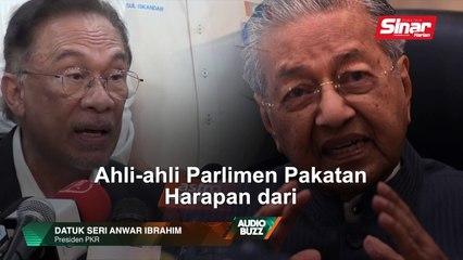 BUZZ: Kami tidak akan khianat amanah rakyat: Anwar