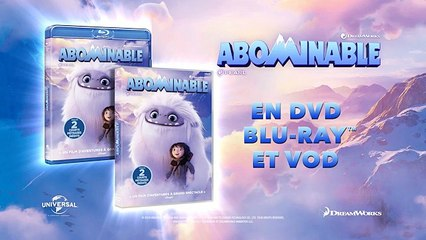 ABOMINABLE maintenant en DVD, Blu-ray et DVD !