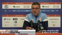 (J24) Laval vs Toulon, avant-match avec Olivier Frapolli