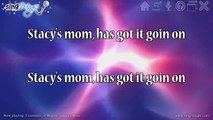 Fountains of Wayne - Stacys Mom Karaoke Version Instrumental