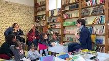 Nouvelle matinée de lecture à la bibliothèque de  Saint-Julien-de-Cassagnas