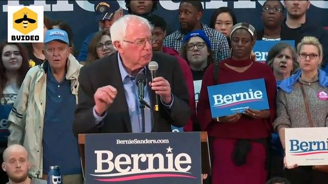 Senator Bernie Sanders Campaigns in Myrtle Beach, South Carolina