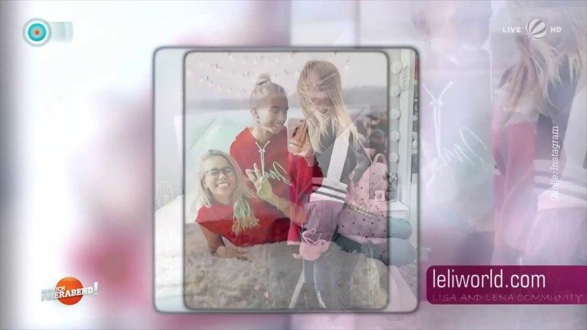 """Lisa & Lena - TV Beitrag bei SAT.1  """"Endlich Feierabend!"""" vom 06.10.2018"""