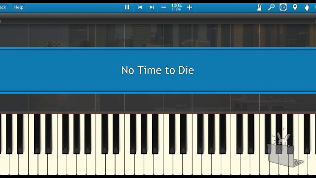 No Time to DieNo Time to Die-Billie Eilish (Piano Tutorial Synthesia)