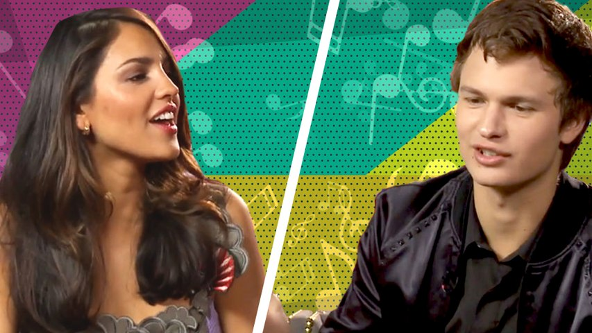 Eiza González & Ansel Elgort adivinan canciones