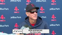 Ron Roenicke Says Red Sox , Chris Sale To Start The Season On The Injured List.