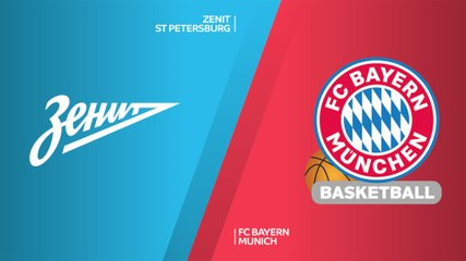 EuroLeague 2019-20 Highlights Regular Season Round 26 video: Zenit 68-77 Bayern