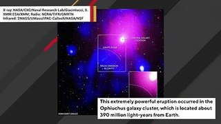 Astronomers Have Detected Biggest Explosion In Universe's History