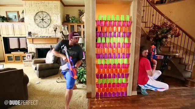 Nerf Blasters Edition   Dude Perfect