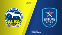 ALBA Berlin - Anadolu Efes Istanbul Highlights | EuroLeague, RS Round 26