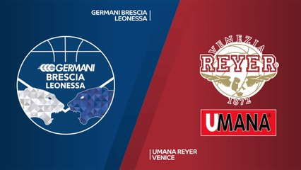 7Days EuroCup Highlights Top 16, Round 6: Brescia 88-93 Reyer