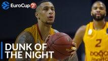7DAYS EuroCup Dunk of the Night: Zach Auguste, Galatasaray Doga Sigorta Istanbul