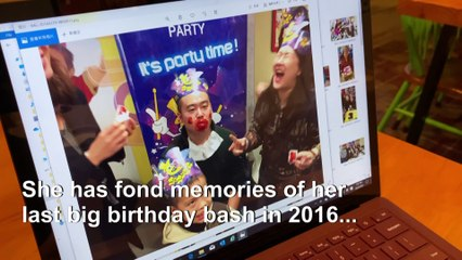 Hong Kong: Leap year birthday ruined by virus fears