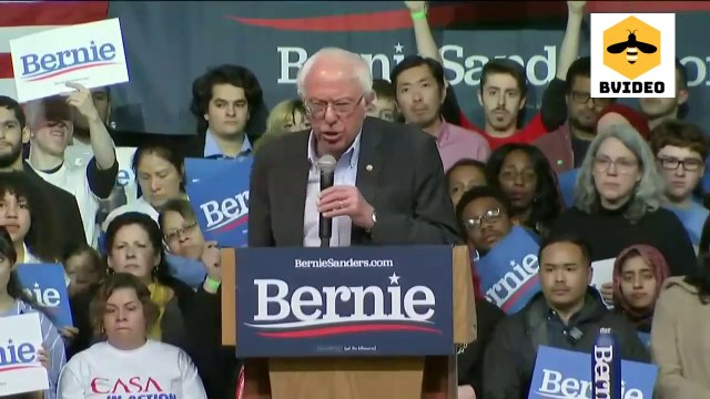 Senator Bernie Sanders Campaigns in Richmond, Virginia