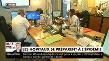 Les hôpitaux se préparent à affronter l'épidémie en France après la multiplication des cas