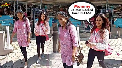 Genelia Deshmukh SWEET GESTURES toward her Mother-In-Law Tells Media not to Record her| BiscootTv