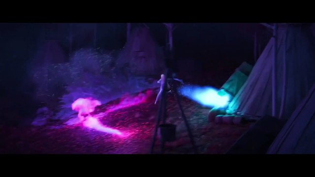 Frozen 2 movie clip - Elsa meets Bruni, The Fire Spirit Salamander