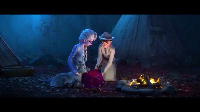 Frozen 2 movie clip - Elsa Learns about the Fifth Spirit with Honeymaren